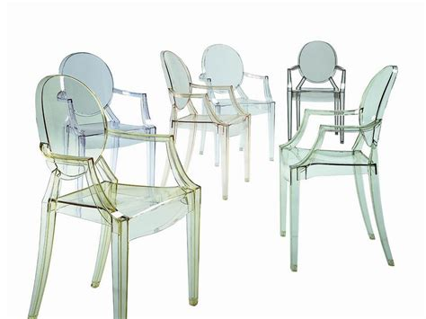 kartell louis ghost chair philippe starck atomic interiors