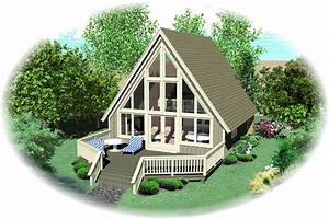A frame house plan 0 bedrms 1 baths 734 sq ft 170 1100 for A frame house plans