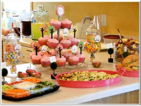 baby shower decoration ideas pictures food table