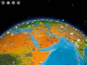 Globe Terrestre Enfant : barefoot atlas du monde globe terrestre app enfant ~ Teatrodelosmanantiales.com Idées de Décoration
