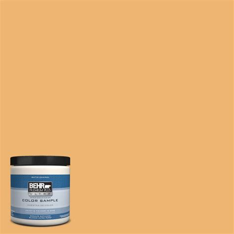 behr premium plus ultra 8 oz ppu6 3 sunburst interior