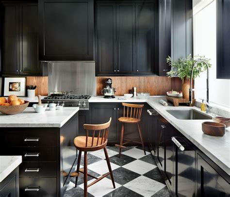 marbre cuisine awesome cuisine noir plan de travail bois blanc images