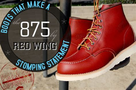 boots    stomping statement    red wing