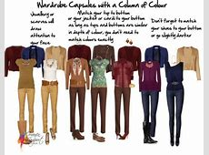 Creating a Capsule Wardrobe to Look Taller Inside Out Style