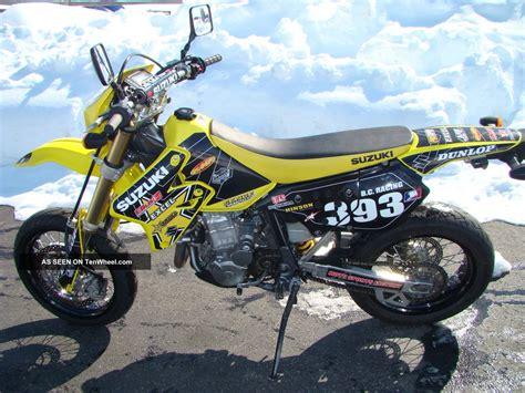 Supermoto Suzuki by 2005 Suzuki Dr Z 400 Sm Supermoto