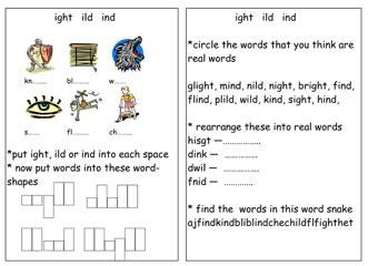 phonics worksheets teaching ideas