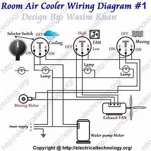 Room Air Cooler Wiring Diagram   1