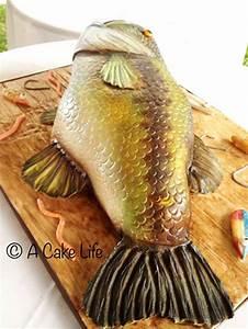 realistic bass fish groom s cake a cake