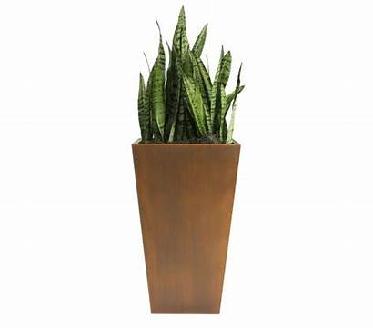 Copper Column Residential Planters Planter Tapered Commercial