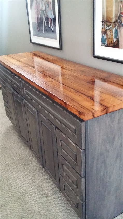 baltimore kitchen cabinets reclaimed chestnut bar maryland wood countertops 1455