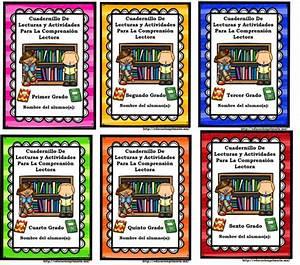 Cuadernillos de lecturas y actividades para la comprensión lectora de todos los grados