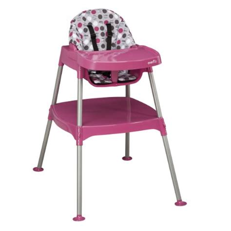 evenflo convertible high chair dottie rose new ebay