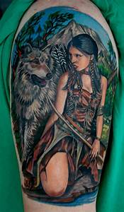 Native American Tattoos - Traditional Native Healing