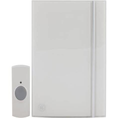 ge wireless door chime ge wireless door chime kit with 32 melodies 19244 the