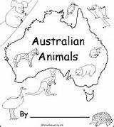Australian Animals Australia Animal Enchantedlearning Books Printable Map Pages Activities Printouts Coloring Wombat Printables Stew Preschool Google Early Activity Continents sketch template