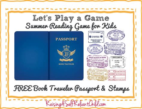 childrens summer reading game bookland travel