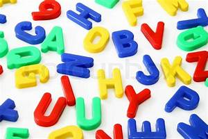 plastic magnetic letters and numbers stock photo colourbox With plastic letters and numbers