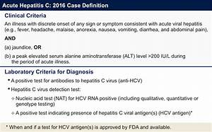 Core Concepts - HCV Epidemiology in the United States ...