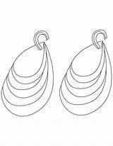Coloring Diamond Colorear Earring Dibujos Joyas Diamant Earrings Pendientes Collares Ausmalbilder Popular Aehnliche Kategorien Recommended Albums sketch template