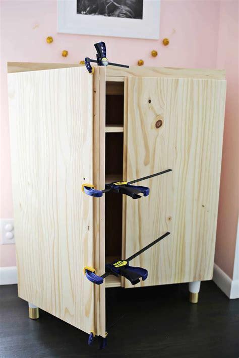 Ikea Ivar Schreibtisch by Ikea Ivar Cabinet Hack Turned Into A Bar Cabinet Ikea