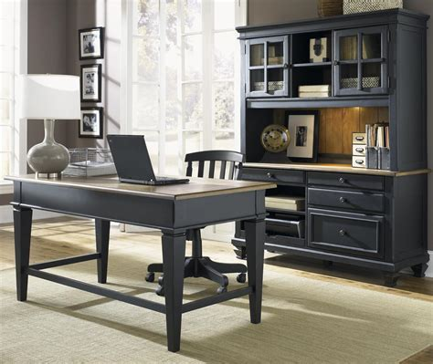 Executive Credenza by Jr Executive Credenza With Hutch By Liberty Furniture