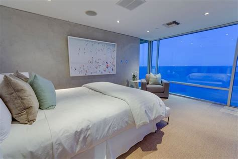 modern malibu beach house rooms   view
