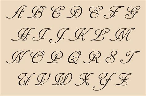 how to make fancy letters fancy cursive letters a z graffiti collection 52655