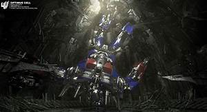 TRANSFORMERS 4 Concept Art: Optimus Prime Cell & Lockdown ...