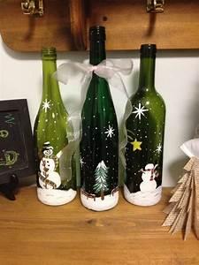 Basteln Mit Glasflaschen : 40 ideen f r diy weihnachtsdekoration aus glasflaschen ~ Watch28wear.com Haus und Dekorationen