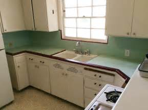 small bathroom countertop ideas create a 1940s style kitchen pam 39 s design tips formula 1 retro renovation
