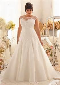 princess a line bateau illusion neckline cap sleeve organza lace plus size wedding dress - Cap Sleeve Bridesmaid Dress