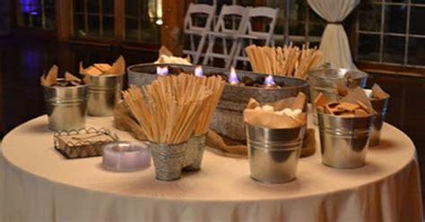 smore bar fun idea food pinterest receptions