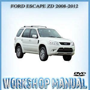 service manuals schematics 2012 ford escape electronic toll ford escape zd 2008 2012 factory workshop service repair manual in dvd ebay