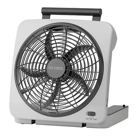 and cool fan o2 cool 10 quot indoor outdoor battery operated fan o2 cool