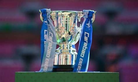 Carabao Cup Draw : Carabao Cup: Liverpool Take On Arsenal ...