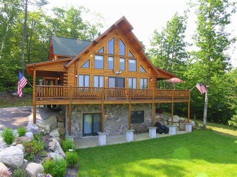 luxury log cabins luxury log cabin best views of mt vrbo