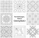 Coloring Pages Quilt Blank Patterns Pattern Printable Quilting Templates Crazy Sheets Template Colouring Creative Adult Cats Fromblankpages Craftdrawer Balance Beginners sketch template