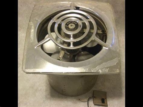 dumpster find vintage  nutone kitchen exhaust fan