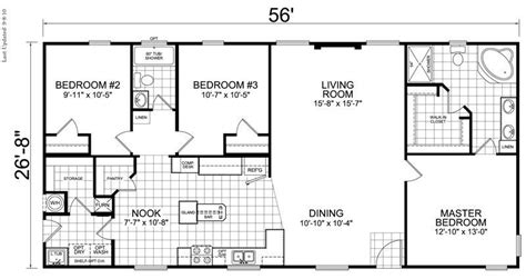 3 Bedroom 2 Bath House by Awesome Three Bedroom Two Bath House Plans New Home