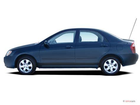 2005 Kia Spectra 4-door Sedan Ex Auto Side Exterior