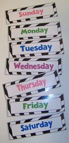 days  week lesson images days  week