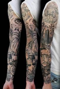 Tatouage Bras Complet Homme : tatouage bras homme avant de se lancer il faut chercher ~ Dallasstarsshop.com Idées de Décoration