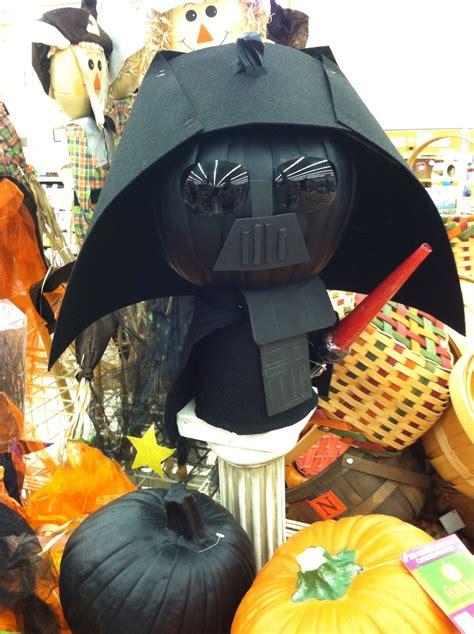 Darth Vader Pumpkin   Pumpkin halloween decorations ...
