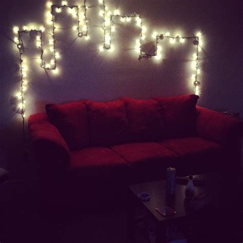 bedroom christmas lights nice design com with how to hang