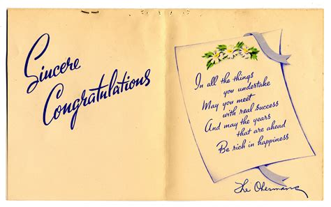 Edith Hornik Beer Digital Scrapbook   Graduation card to ...