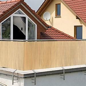 gardol comfort sichtschutz bambus optik 300 x 90 cm With französischer balkon mit leuchtkugeln garten bauhaus