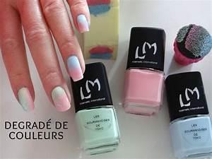 Faire Un Dégradé : tuto nail art pour les d butantes comment faire un joli ~ Melissatoandfro.com Idées de Décoration