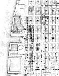 Downtown Bay City Michigan Map