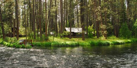 camping   metolius river outdoor project