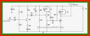 2 Km Fm Transmitter Circuit Diagram  Working And Applications